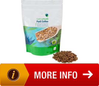 Organic Coffee PurE Coffee 1/2 LB Air Roasted Shade Grown Seeking Health